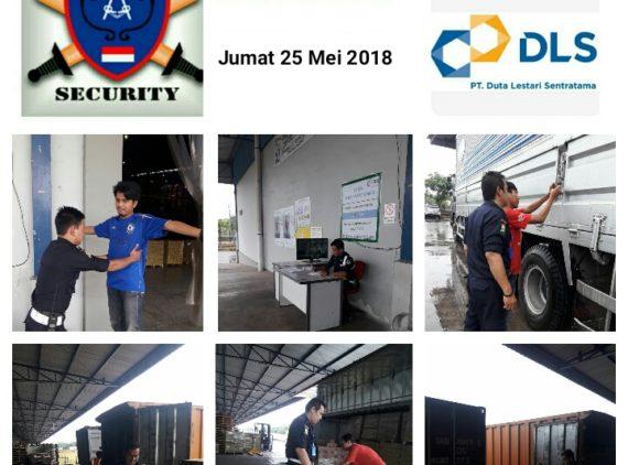 Kegiatan Pengamanan PT DLS di Warehouse Marunda Center