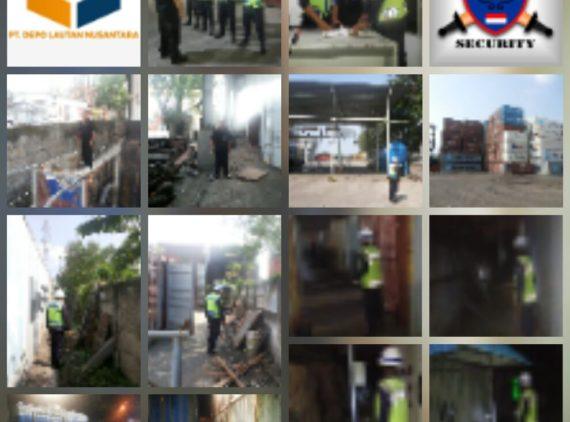 Kegiatan Pengamanan di PT DLN Depo Cakung Jakarta Timur