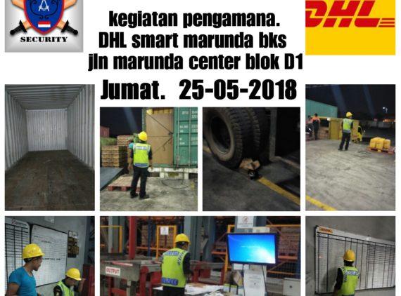 Kegiatan Pengamanan Security di DHL – Sinarmas Warehouse Marunda Center Bekasi